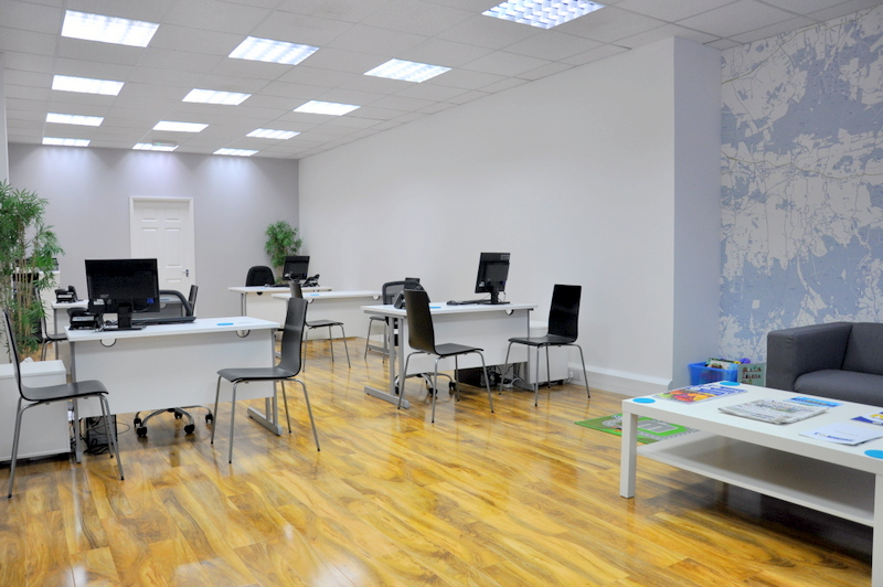 estate agent office design. The New Office Is Stylish And Modern In Planning Design We Have Incorporated A Play Area For Children To Enjoy, Plus Refreshments Are On Offer At Estate Agent G
