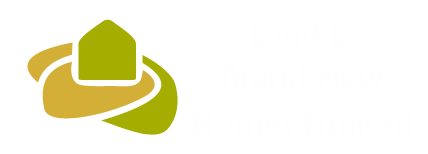 Land and Brand New Homes logo