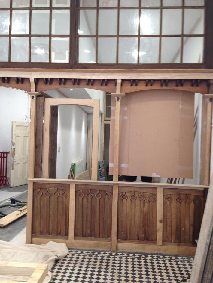 Estate Agents Aldermans Hill renovation