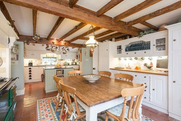 Adam bede house Ellastone Bespoke Farmhouse Kitchen