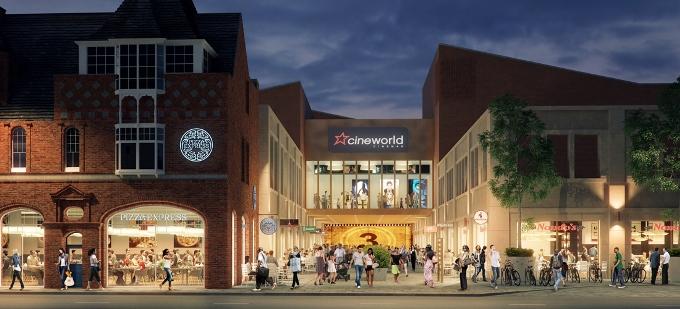 Cineworld Complex Baxter Gate Loughborough