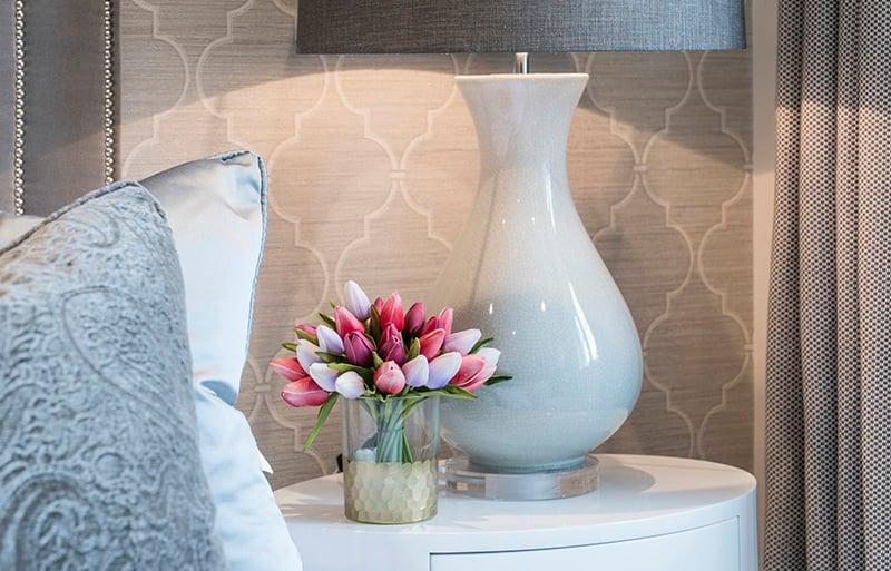bedside floral display