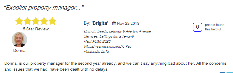 Manning stainton, all agents review 5 star