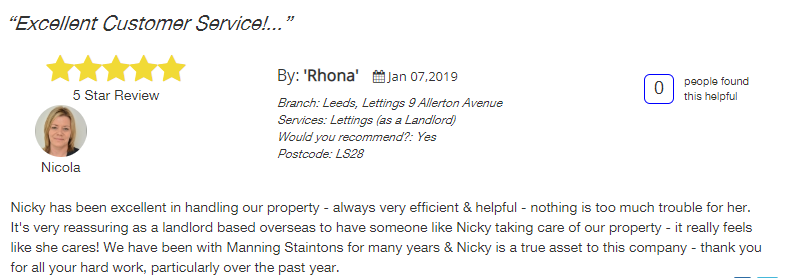 Allagents review manning stainton 5 star