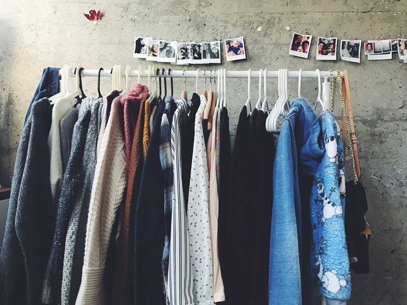 Selling old clothes